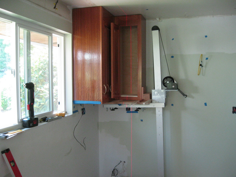 UPPER CABINET INSTALLATION