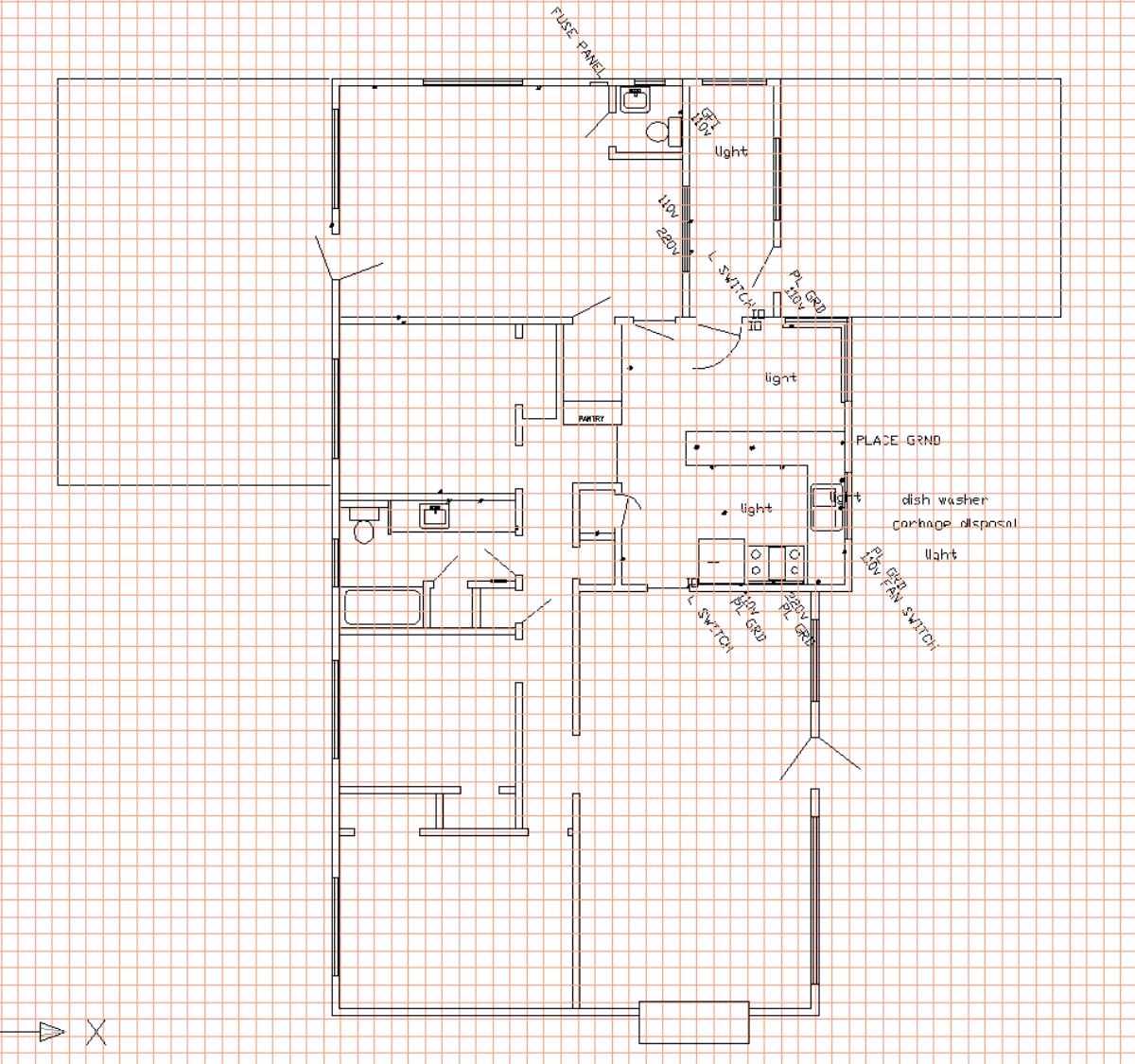 Home interior perfly autocad home design drawings Autocad house drawings