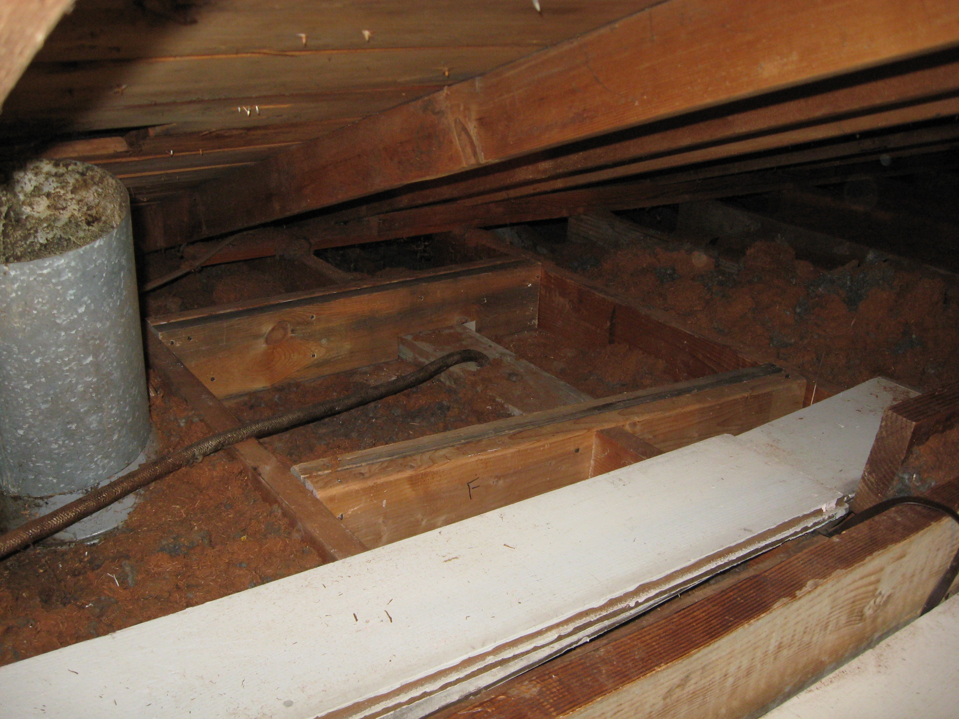 Attic Electric And Venting