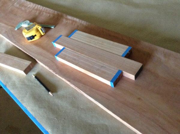 Lyptus quartersawn gluelam plan