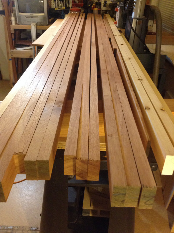 Lypyus Cabinet quartersawn material