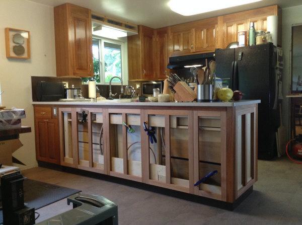 Lyptus cabinet frames fit.