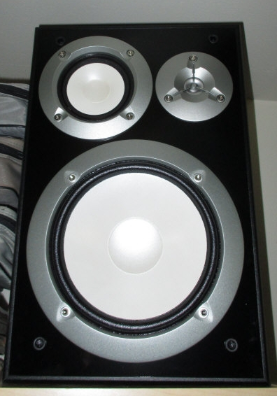 Yamaha NS-6490 3 way crossover speakers three way !00 watt synthmind