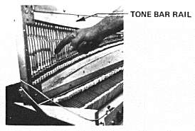 Harp Position for Tuning the Rhodes