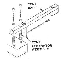 Rhodes Second Stage Tone Bar Assembly